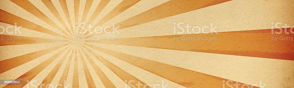 Retro Burst Paper royalty-free stock photo