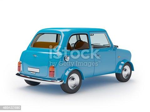 istock retro car mini 469432590
