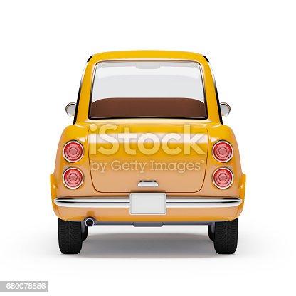 istock retro car orange 1960 680078886