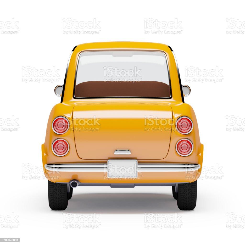 Retro-Auto Orange 1960 – Foto