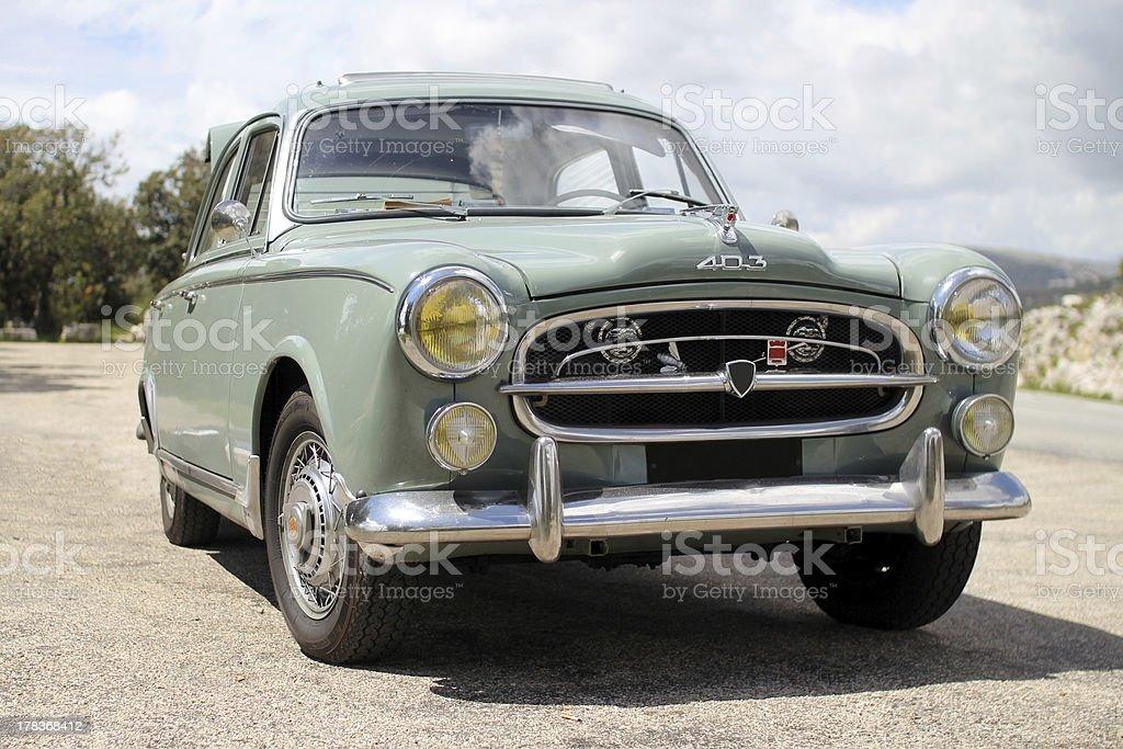 Retro car - Peugeot stock photo