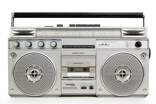 Best Vintage Portable Silver Radio Stock Photos, Pictures