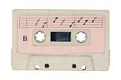 istock Retro  cassette tape. 806553588