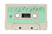 istock Retro cassette tape. 810130592
