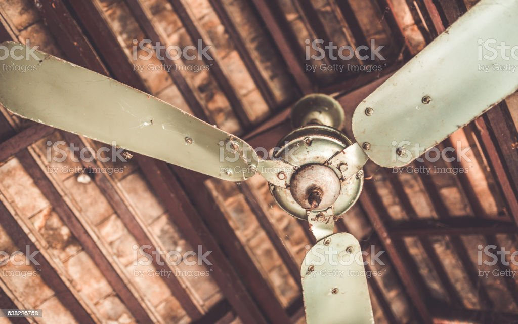 Retro Ceiling Fan Stock Photo Download Image Now Istock