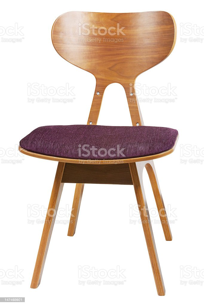 retro chair royalty-free stock photo