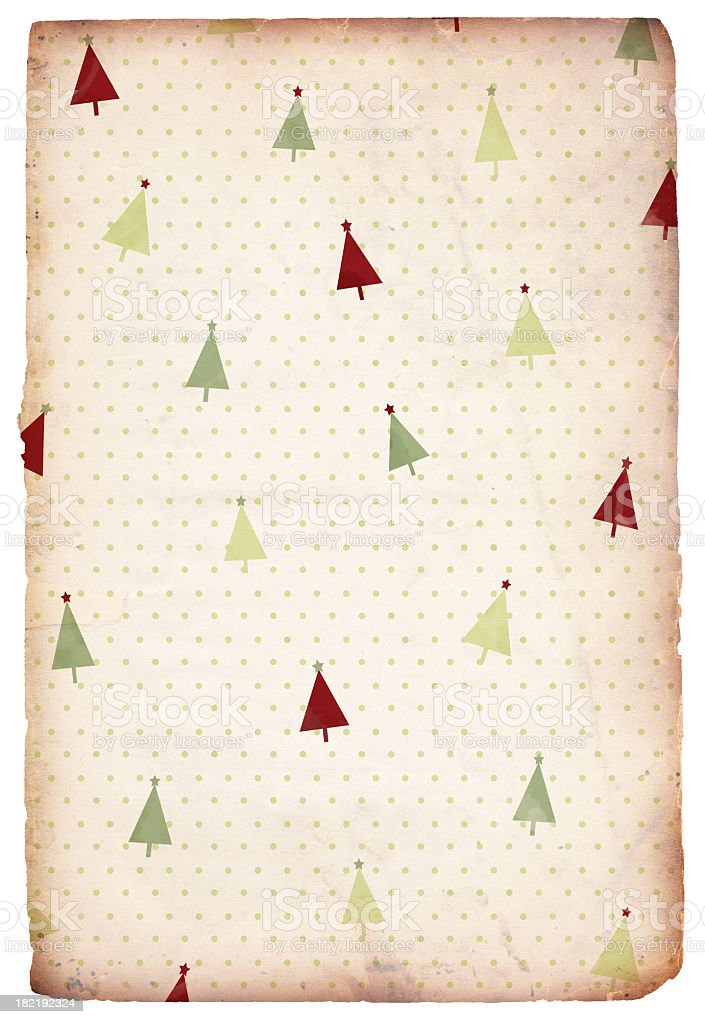 Retro Christmas Background royalty-free stock photo