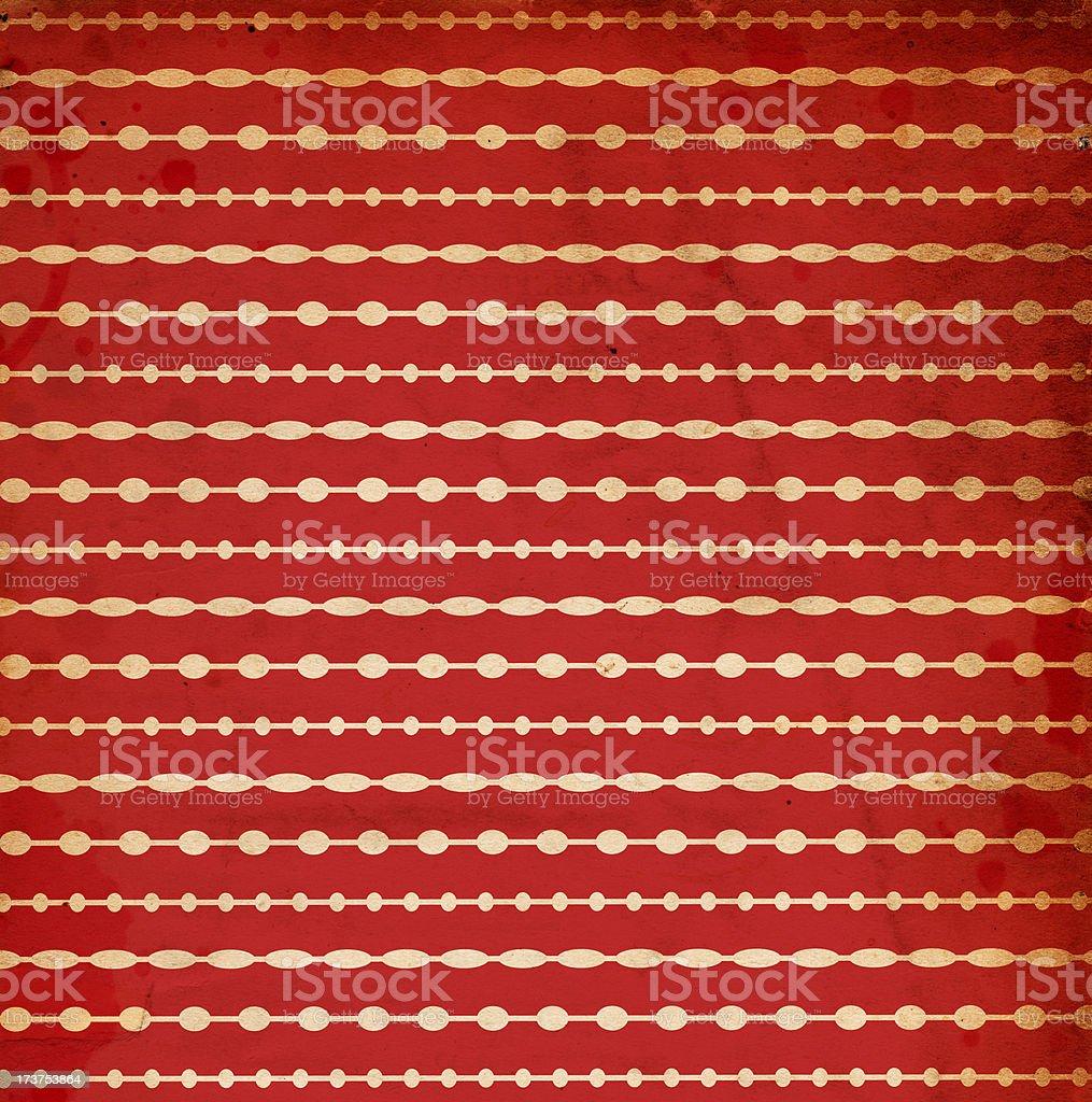Retro Christmas Paper XXXL royalty-free stock photo