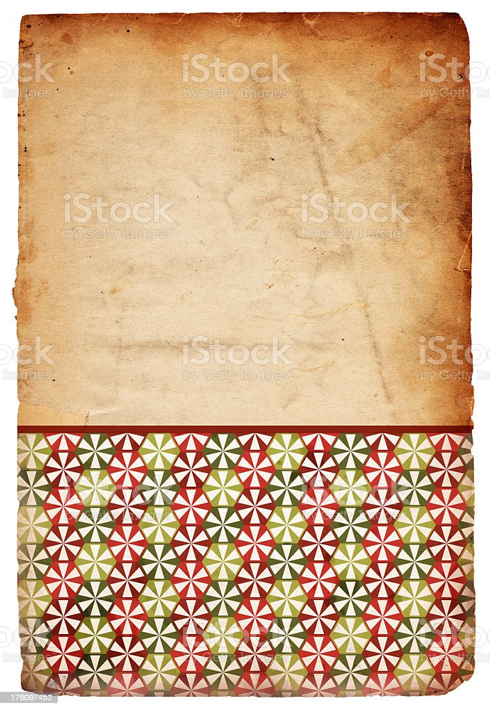 Retro Christmas Peppermint Background royalty-free stock photo
