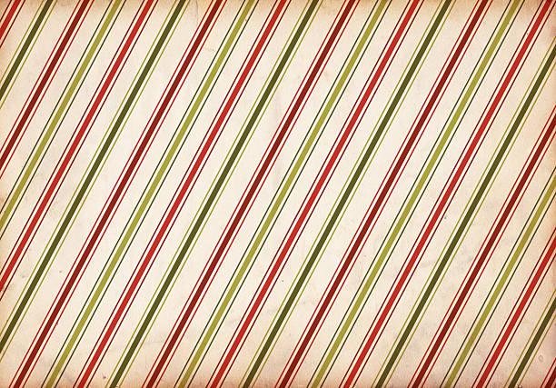 Retro Christmas Stripe Pattern Background stock photo