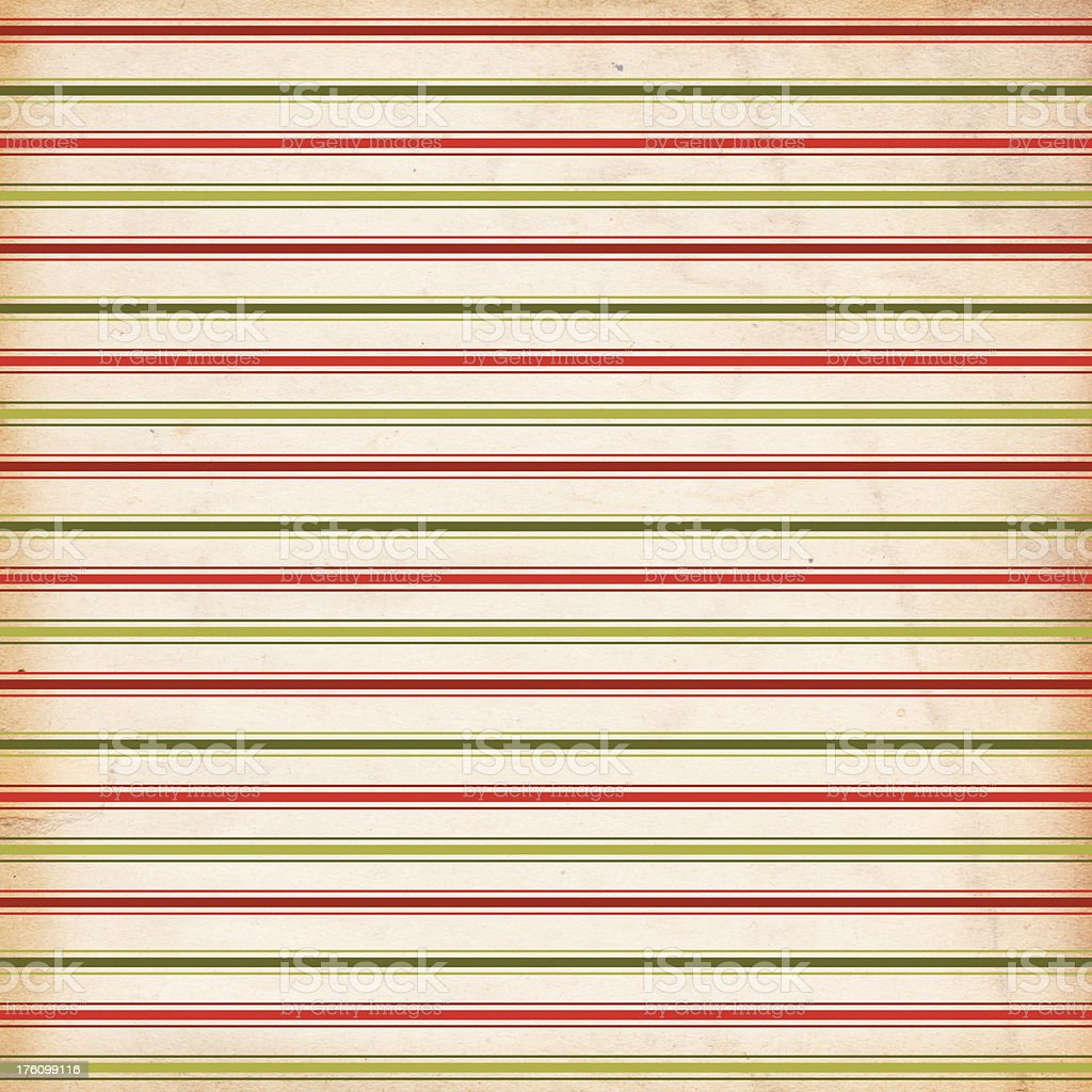 Retro Christmas Stripe Pattern Background royalty-free stock photo