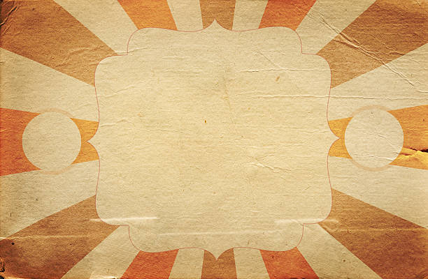 retro circus style poster template on rhombus background - circus background stock photos and pictures