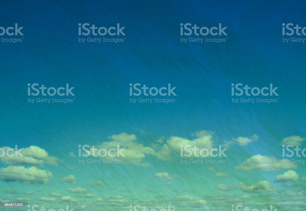 retro cloudy sky royalty-free stock photo