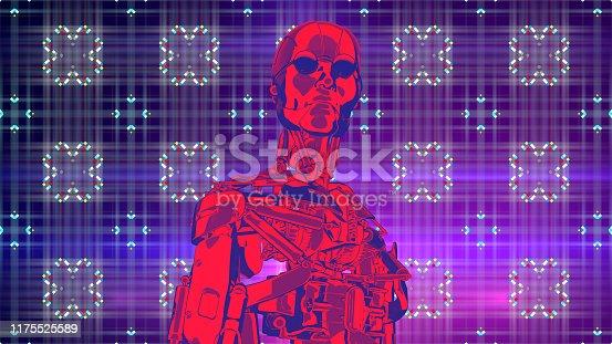1071338130istockphoto Retro concept artificial intelligence for information design 1175525589
