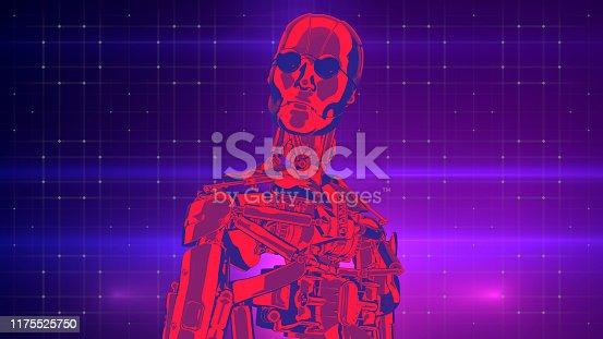 1071338130istockphoto Retro concept artificial intelligence for information design 1175525750