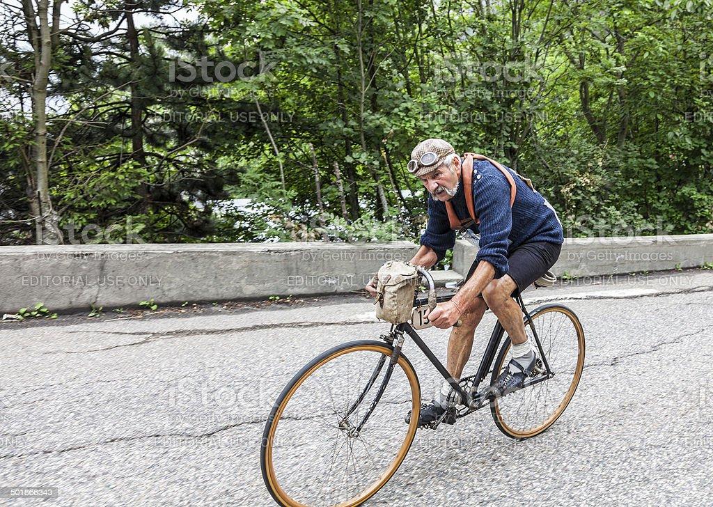 Retro Cycling foto