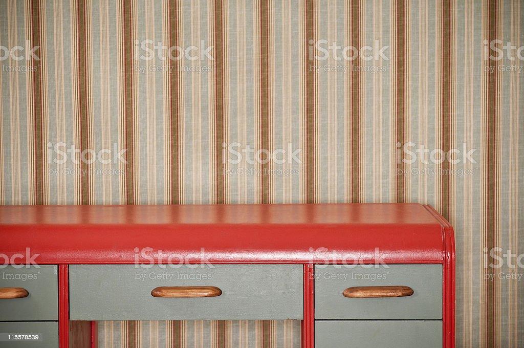 Retro Desk stock photo