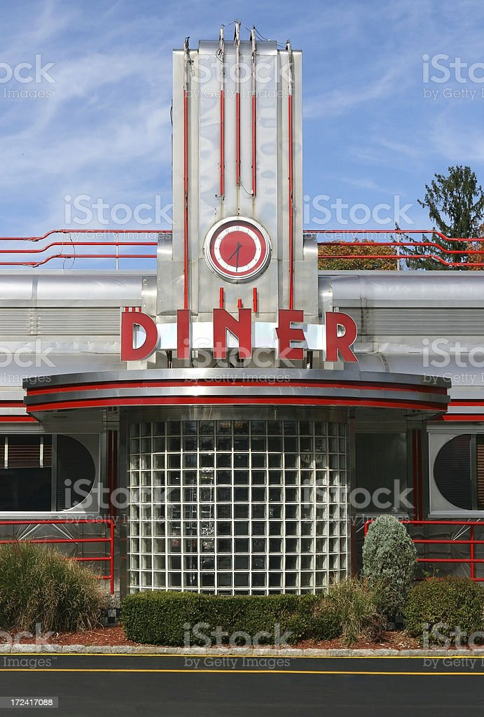 Retro Diner stock photo