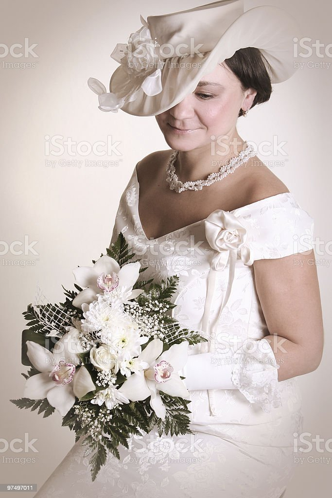 retro dress royalty-free stock photo