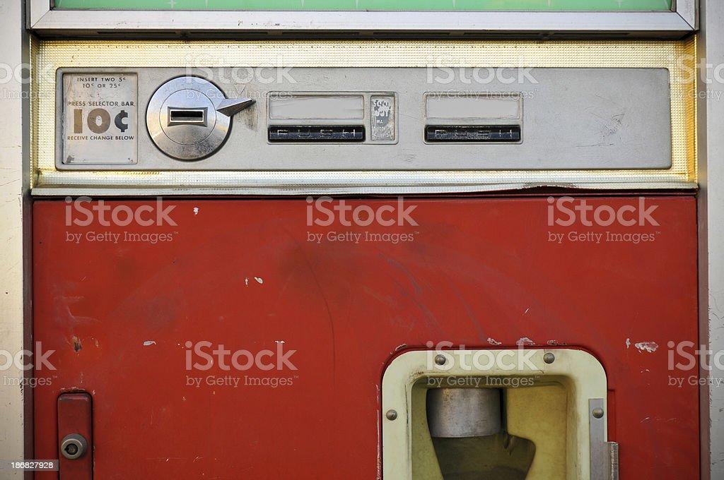 Retro Drink Vending Machine royalty-free stock photo