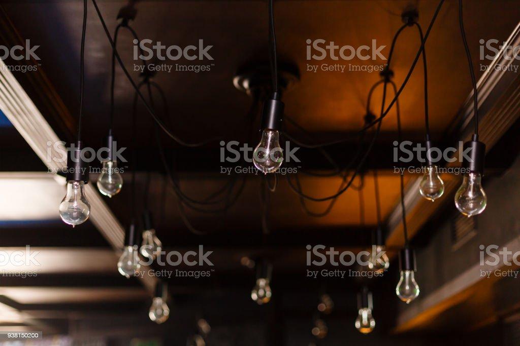 Kronleuchter Edison ~ Edison orange lampe retrodesign auf spider kronleuchter leicht vom