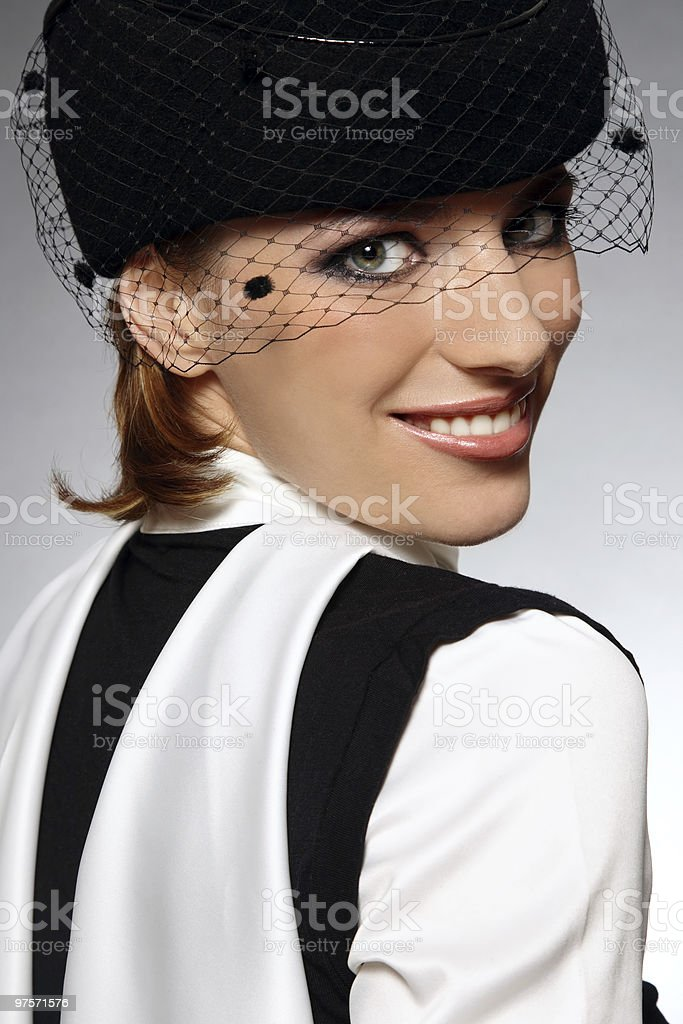 Retro fashion royalty-free stock photo