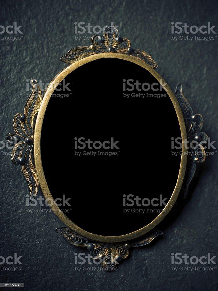 retro frame royalty-free stock photo