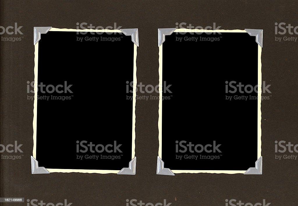 retro frames royalty-free stock photo