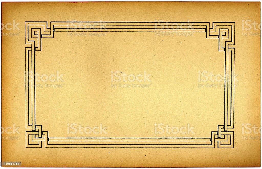 retro framing background royalty-free stock photo