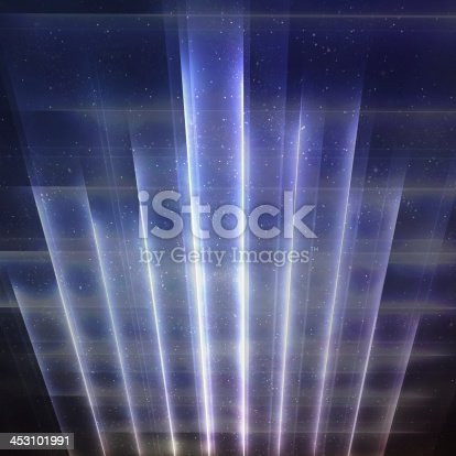 istock Retro Galactic Abstract Grid Space Background 453101991
