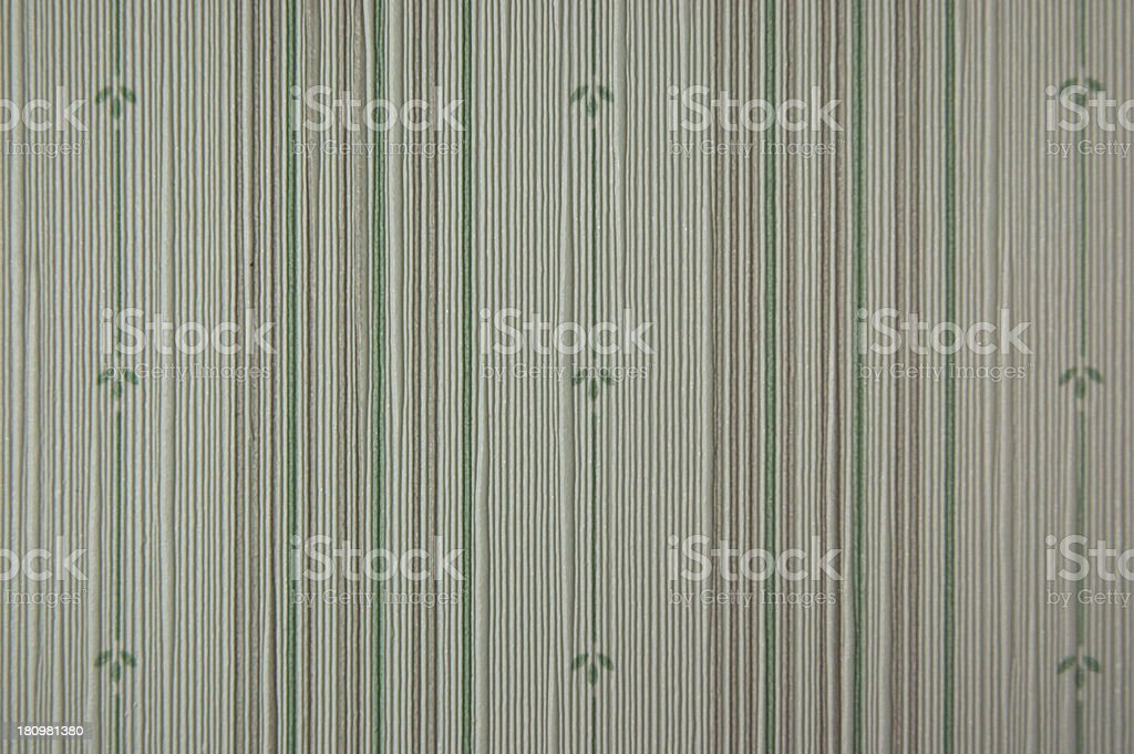 retro general line and flower green tone vinyl royalty-free stock photo