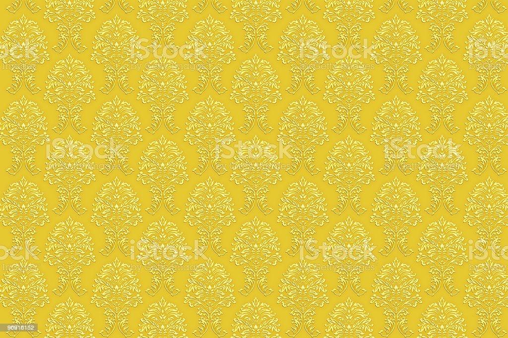 retro gold luxury wallpaper royalty-free stock photo