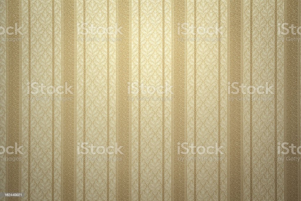 Retro gold wallpaper stock photo