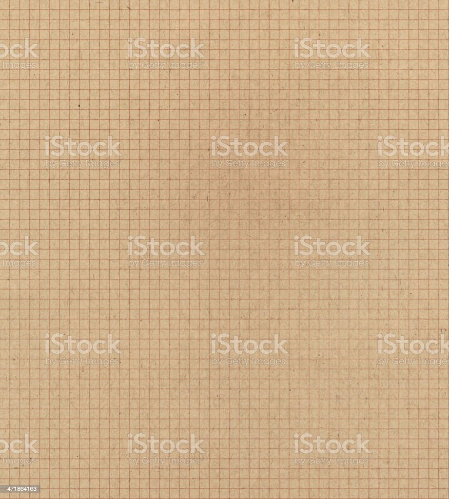 retro graph paper royalty-free stock photo