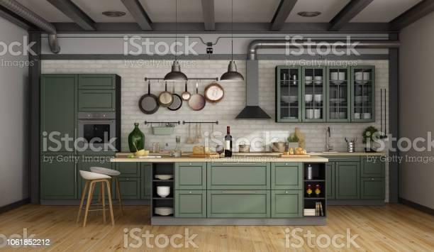 Retro green kitchen in a old room picture id1061852212?b=1&k=6&m=1061852212&s=612x612&h= 1i4v2fqphgiviwu7k9jv7k1szm2umomn7 kbb2r9ks=