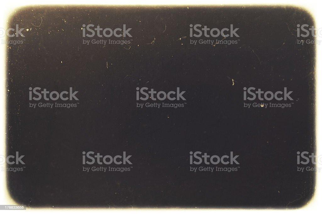 Retro grunge photography frame. royalty-free stock photo