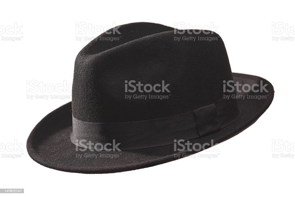 Retro hat stock photo
