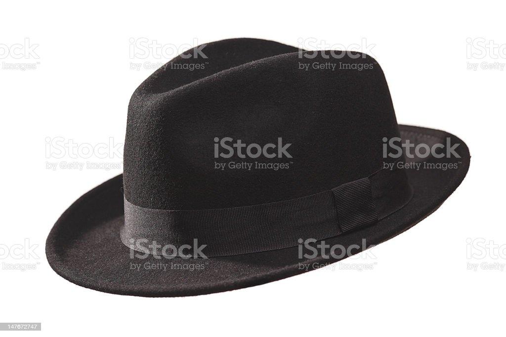 Retro hat stock photo