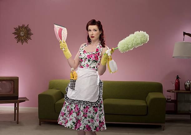 retro dona de casa - dona de casa - fotografias e filmes do acervo