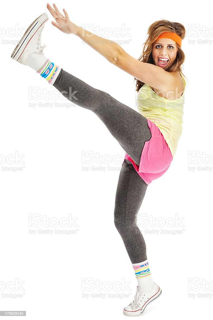 Retro Jazz Dancer stock photo