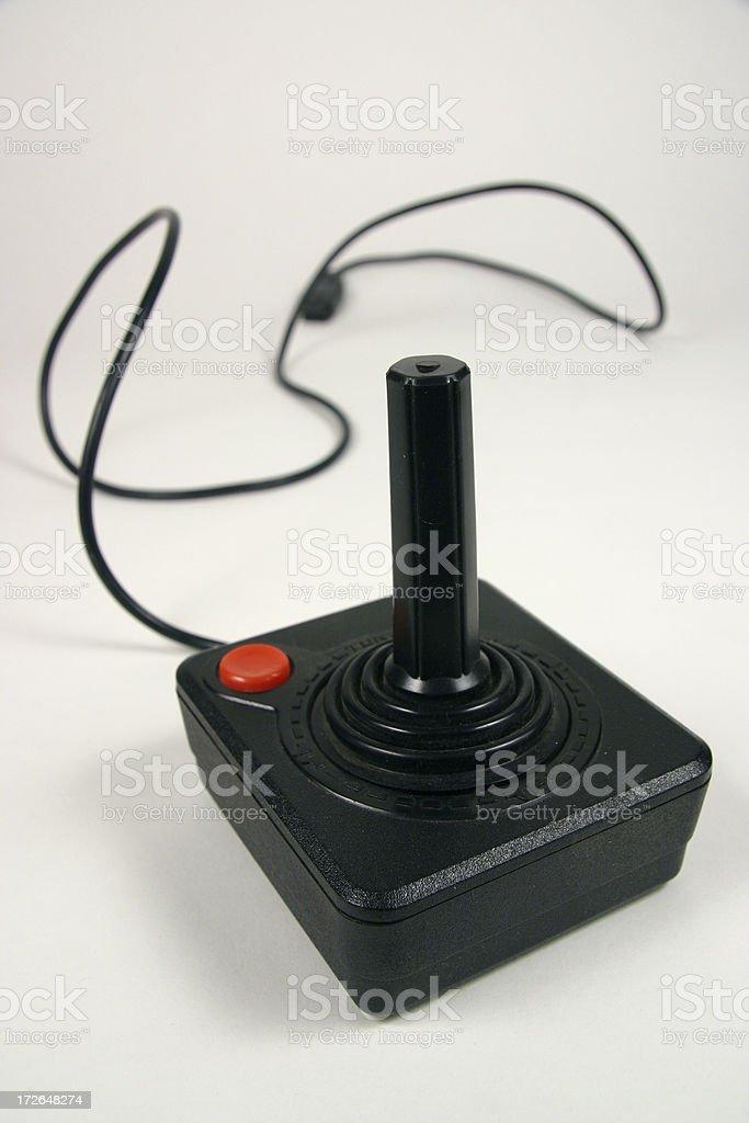 Retro Joystick stock photo