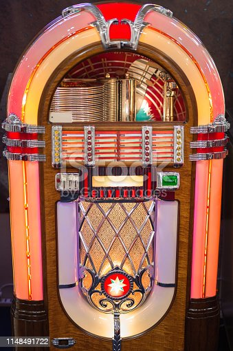 istock Retro jukebox: Music and Dance in bars in the 1950s 1148491722