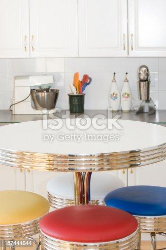 istock Retro Kitchen. 157444644