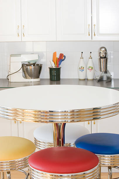 77 50s Style Kitchen Table Stock Photos Pictures Royalty Free Images Istock