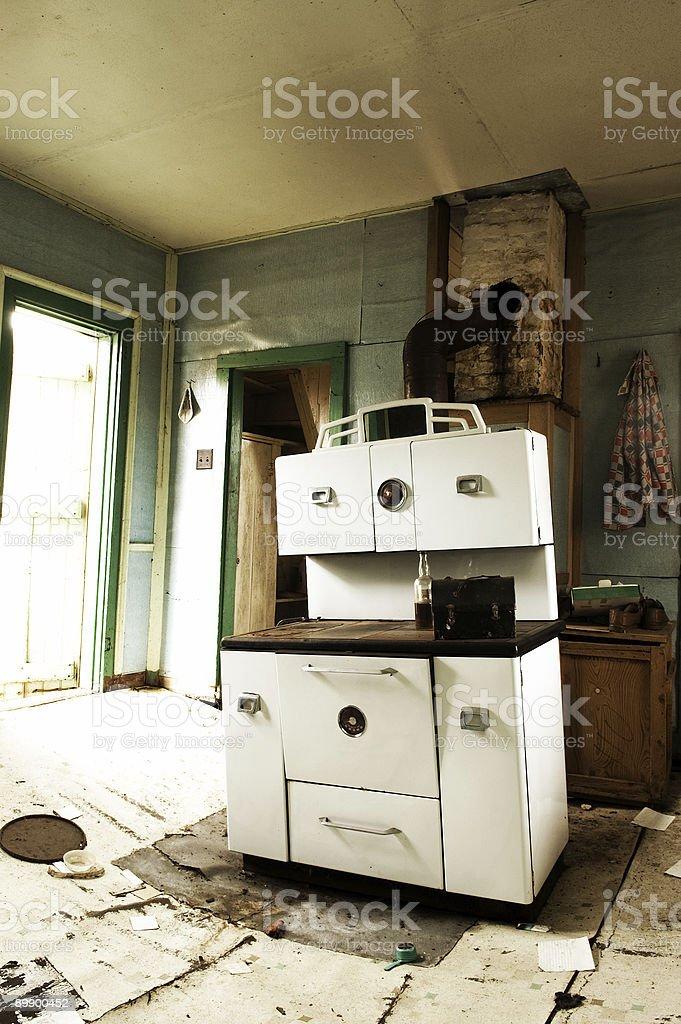 Retro Kitchen royalty-free stock photo