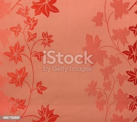 istock Retro Lace Floral Seamless Pattern Fabric Background Vintage Style 486756890