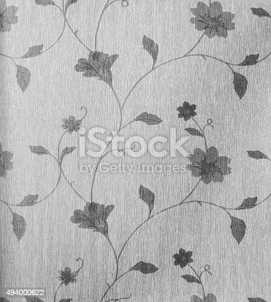 istock Retro Lace Floral Seamless Pattern Fabric Background Vintage Style 494000622
