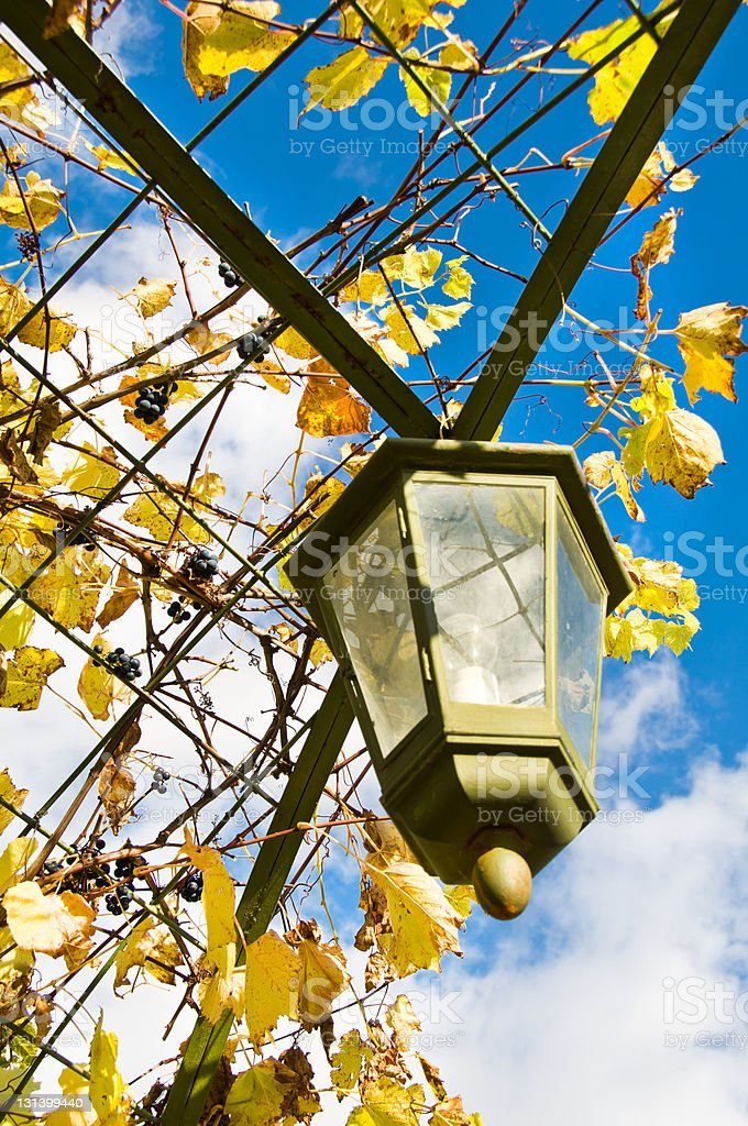 Retro lantern royalty-free stock photo