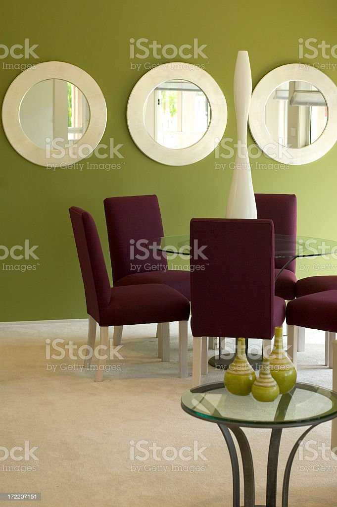 Retro Lounge stock photo