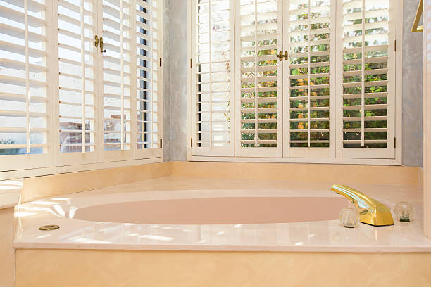 Retro Master Bathtub stock photo